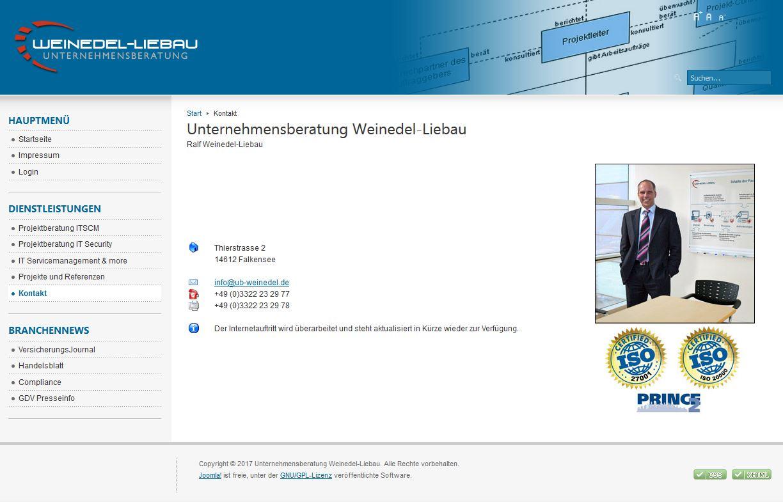 Unternehmensberatung Weindel-Liebau